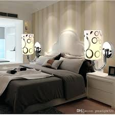 wall sconces for bedroom best clear glass wall light modern simple style crystal led bedside wall