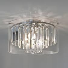 astro asini polished chrome ceiling light