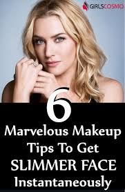 6 marvelous makeup tips to get slimmer face instantaneously