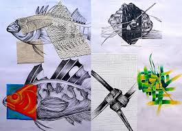 GCSE Art Board by ElleMcC deviantart com on DeviantArt