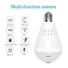 Amazoncom Wifi Bulb Security Camera 1080p Wireless Security