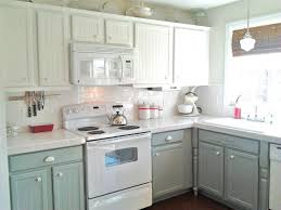 Painted Wood Kitchen Cabinets Painted Wood Kitchen 5 Brown Kitchen Walls With White Cabinets