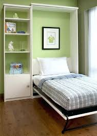 single twin size closet bed great for the occasional college kids holiday stay bedideasikeadiy ikea post closet bed ikea