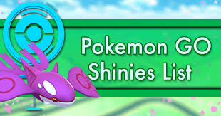 Pokemon Go Shinies List Pokemon Go Wiki Gamepress