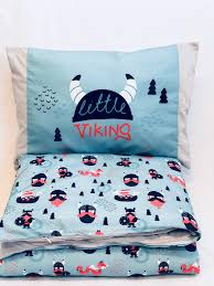 vikings bedding cover 90 120cm and pillow cover 40 60cm