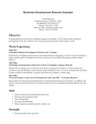 free business administration resume templates download