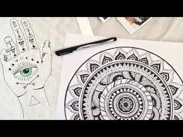 DIY <b>Mandala</b> Room Decor! (<b>Boho Wall Art</b>) - YouTube