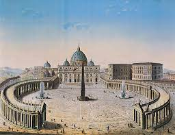 Veduta della Basilica di San Pietro - Vedute - Signum Firenze
