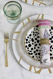 add a touch of luxury to your dinner table with my gold glam diy charger