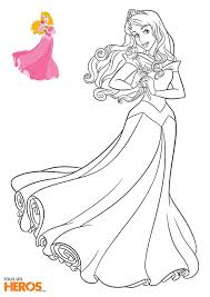 Coloriage Princesse Disney Imprimer En Ligne