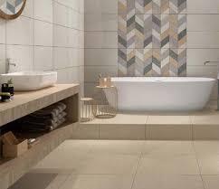 grey glazed non slip floor tile for bathroom