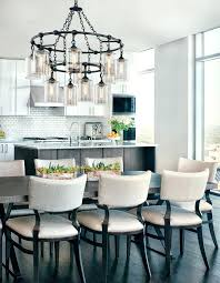 kitchen table chandelier wrought iron over a contemporary kitchen table chandelier