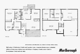 small contemporary house plan two y open floor home building plans 26388