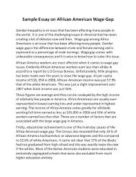 essay on being african american african american essay bartleby