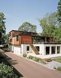 Cargo Box Homes Shipping Container Home In Pennsylvania Off The Delaware River