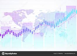 Stock Market And Exchange Candle Stick Graph Chart Of Stock