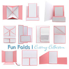 fold card pazzles cutting files pazzles cutting collection fun fold
