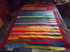 Lasagna Quilt Can make pieces with diagonal cuts instead of ... & Lasagna quilt Adamdwight.com