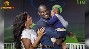 Image result for Damilola Adegbite and husband and child
