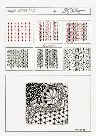 Tangle Patterns Delectable 48 Easy Zentangle Patterns To Give You Great Ideas For Your Own