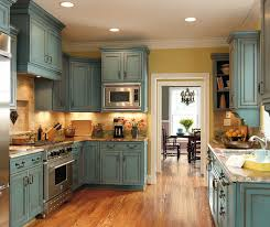 turquoise kitchen cabinets by decora cabinetry shaker