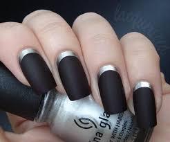Stylová černá Manikúra černý Gelový Lak Perfektní Manikúra Pro