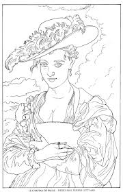Holiday Coloring Pages » Famous Artist Coloring Pages - Free ...