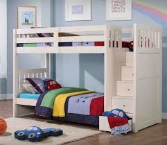 Kids bunk beds with stairs little kids bunk beds