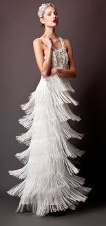All That Jazz Inspired Wedding Dresses Brit Co