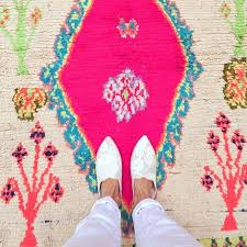 pink rug co vintage from listing