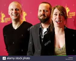 actors troels lyby and sofie grabol r pose during a photocall actors troels lyby and sofie grabol r pose during a photocall for the danish film anklaget accused by director jacob thuesen c at the 55th berlinale