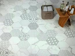 Modern Floor Tiles Gallery Decorative Hexagonal Tiles Modern Kitchen