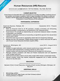 Human Resources Resume Examples - Pointrobertsvacationrentals.com ...