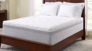 novaform 14 comfort grande queen gel memory foam mattress. the novaform mattress on a wooden bedframe 14 comfort grande queen gel memory foam