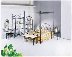 wrought iron bedroom furniture.  Furniture Terrific Black Metal Vanity Also Dresser With Wrought Iron Accents And  Bedroom Decorating To Furniture W
