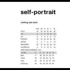 Self Portrait Size Chart Self Portrait Dot Mesh Tiered Mini Dress Nwt