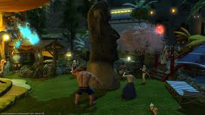 so the moai statue yard decoration ismuch bigger than