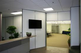 Office walls Plant Interior Demountable Reception Wall For Entryway Movable Office Walls Demountable Wall Systems