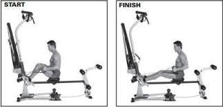 Bowflex Xtl Exercise Wall Chart Bowflex Exercises Aerobic Rowing Bowflex Workout 20