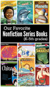 nonfiction series books for k 5th grades this reading mama