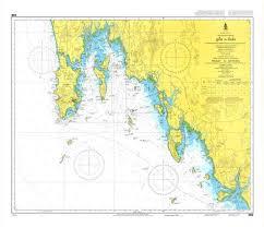 Texas Gulf Coast Water Depth Chart Thailand Nautical Chart 308 Phuket Kantang 20 00