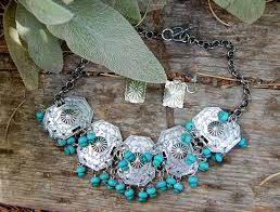 las adres christina marie beck s creative recycled jewelry using vine concha pieces