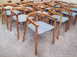 minimalist scandinavian chair made of solid teakwood we produce and manufacturing retro scandinavian mid century