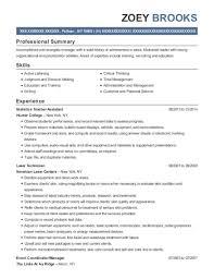 Best Statistics Teacher Assistant Resumes Resumehelp