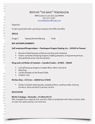 How To Make A Resume For A Job Stunning how to write resumes for jobs Durunugrasgrup