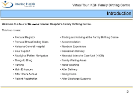 Akron City Hospital Birth Plan Virtual Tour Kgh Family Birthing Centre Having Your Baby At