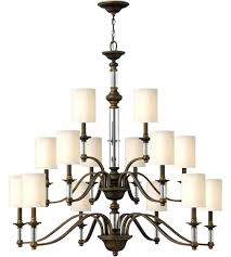 3 tier chandelier light inch bronze foyer chandelier ceiling light 3 tier crystal glass fringe 3
