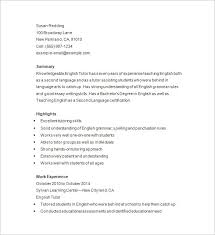 tutor on resume