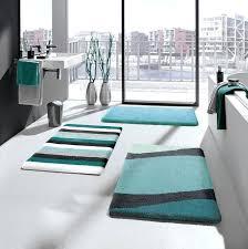 blue bath rugs blue bath mats impressive modern bathroom rug sets in decorations regarding rugs design