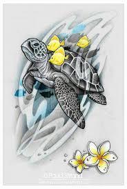 черепаха тату красиво татуировки идеи для рисунков и морские